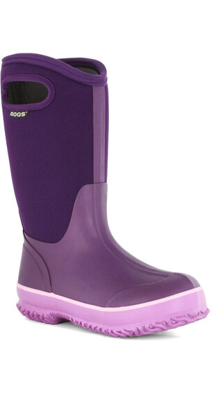 Bogs Kids Classic High Handle Solid Purple